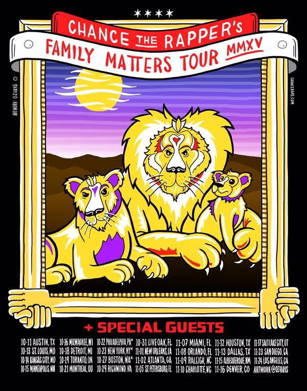 Chance The Rapper Announces 'Family Matters' Tour