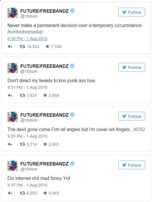 Future tweet Russell Wilson