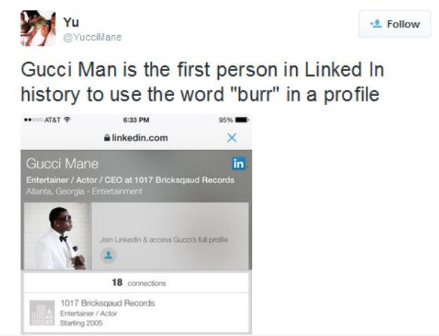 Gucci twitter