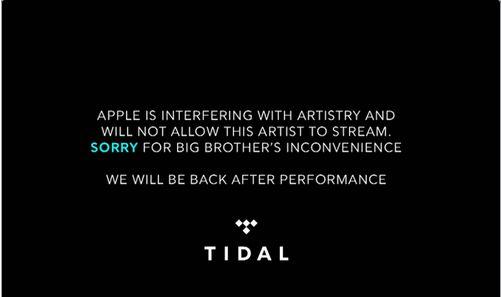tidal apple