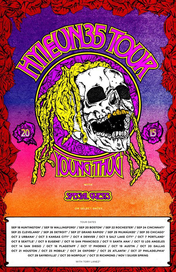 Young Thug Announces 'Hy!£UN35' Tour