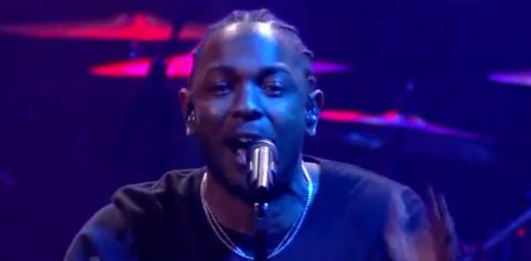 Kendrick Lamar Does 'TPAB' Medley On �The Late Show With Stephen Colbert�
