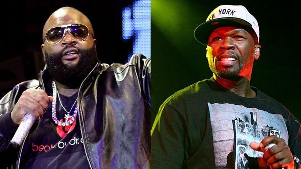 50 Cent Takes A Photo With Victim of Rick Ross' Assault & Kidnapping