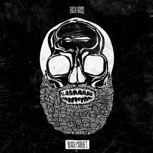 Rick Ross' 'Black Market' Album Cover