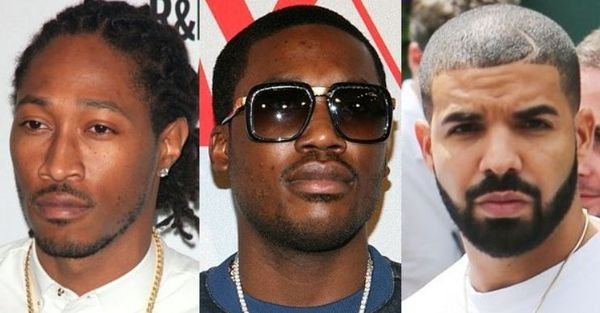 Looks Like Meek Mill's Trolling Drake & Future's Diamond BFF Rings