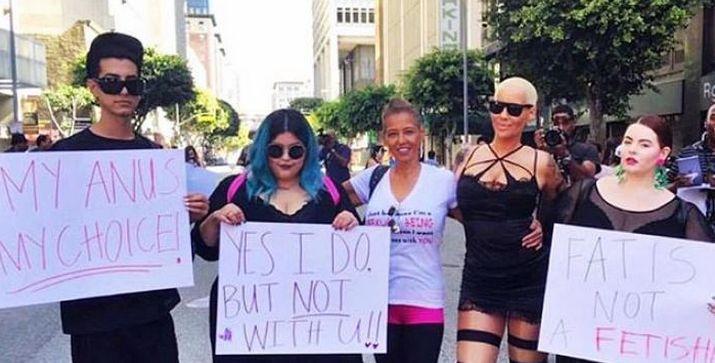 Rose Slut walk first