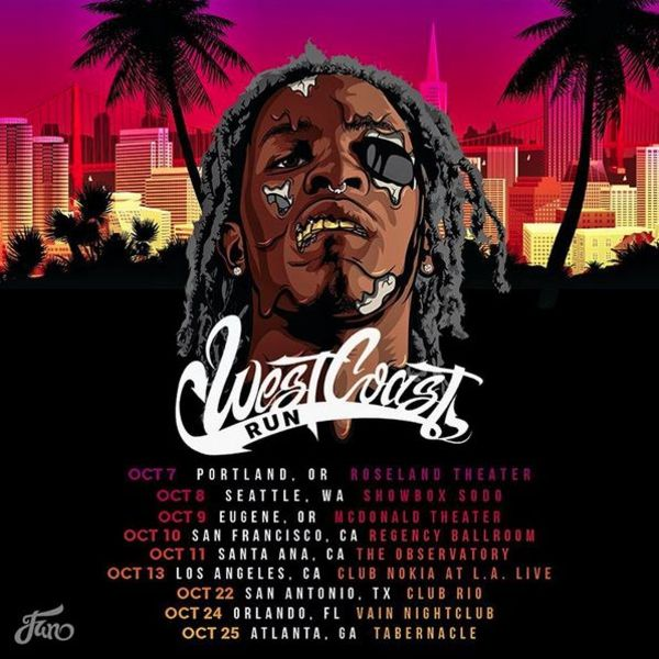 Young Thug Shares West Coast Tour Dates
