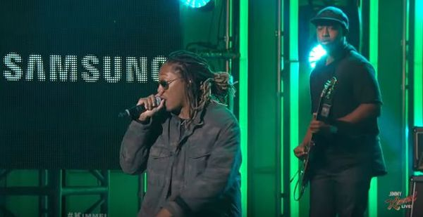 Future Did 'Blow A Bag' And 'Where Ya At' On 'Jimmy Kimmel Live'