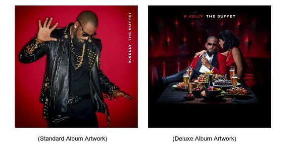 R. Kelly's 'Buffet' Album Cover & Track Listing