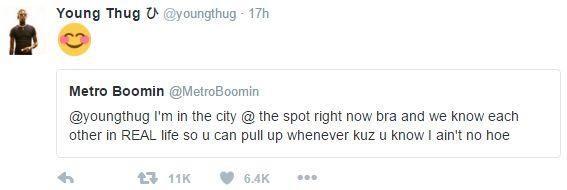 Young Thug metro t