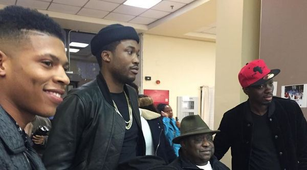 Meek Mill And Comic Michael Blackson Battle On Instagram