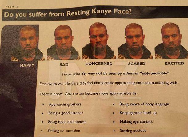 Resting Kanye