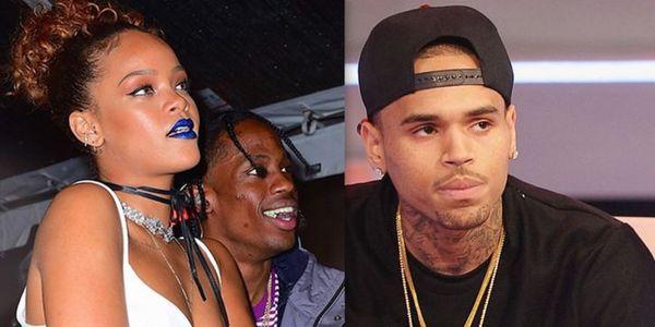 Chris Brown Slings Instagram Poop At Travis Scott