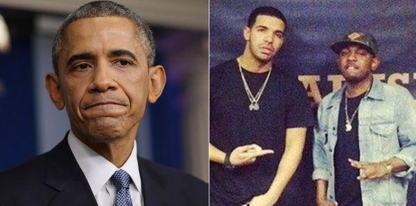 Barack Obama Weighs In On Drake Vs. Kendrick Lamar