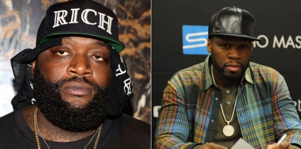 50 Cent Graphically Threatens Law Of The Jungle In Beef With Rick Ross