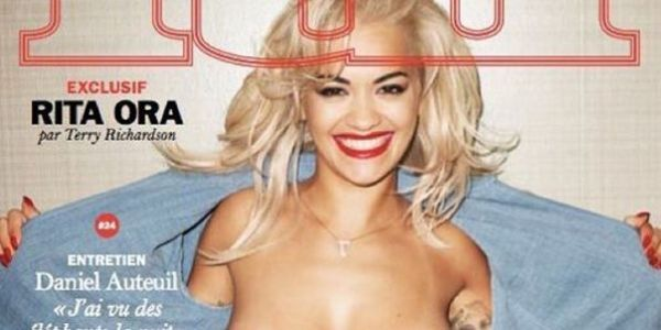 Rita Ora Is Topless On The Cover Of 'Lui'