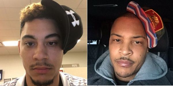 "T.I. Responds To A Fan's ""Anti-Gravity Hat Challenge"" on Twitter"