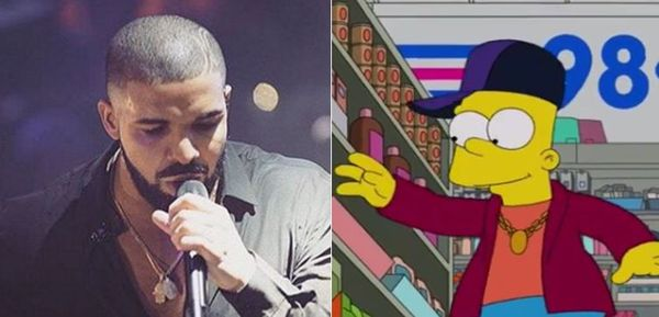 Drake Popped Up On 'The Simpsons'