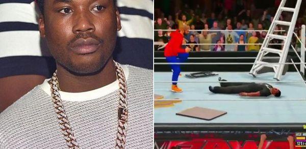 Meek Mill Warns DJ Whoo Kid After He Posts Drake WWE 2K16 Videos