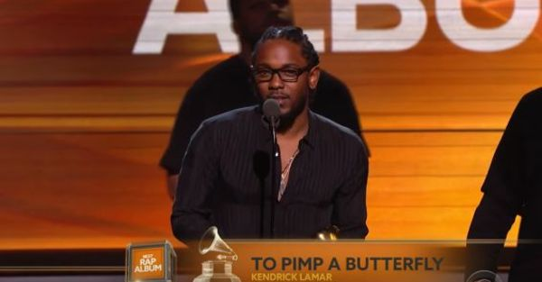 Kendrick Lamar Wins Five Grammys, The Most Of 2016