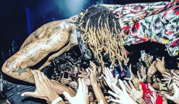 Wiz Khalifa Got His Rolex Snatched During Concert