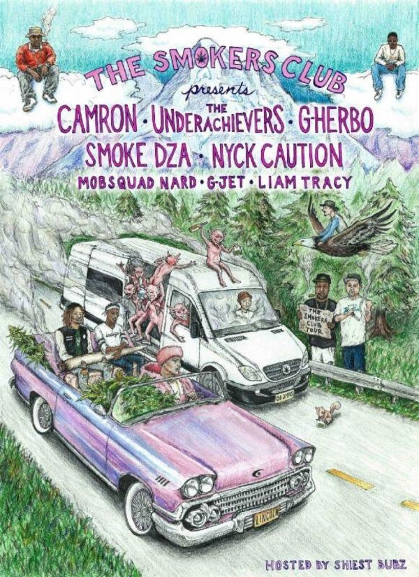 Cam'ron Headlining The Smoker's Club Tour This Summer