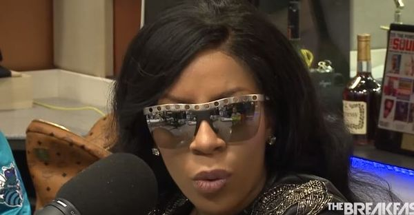 K. Michelle Confronts Angela Yee For Instigating Stinky Vagina Talk