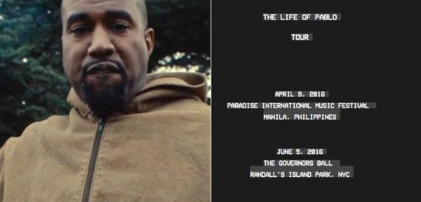 Kanye West Tour Dates Are Starting To Pop Up On His Website