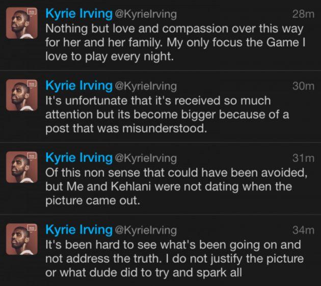 Kyrie tweet