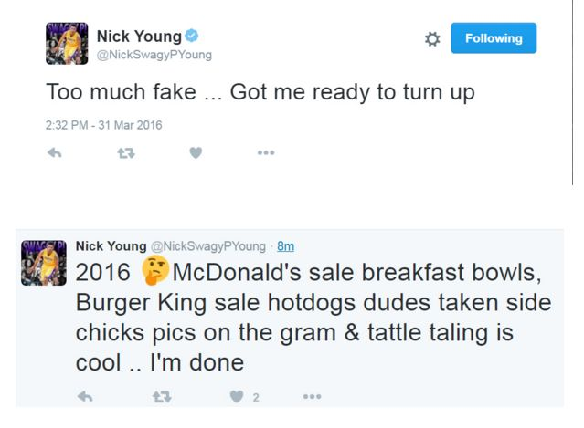 Nick YOung fa