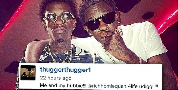 Young Thug Disses Former Bestie Rich Homie Quan From Stage [VIDEO]