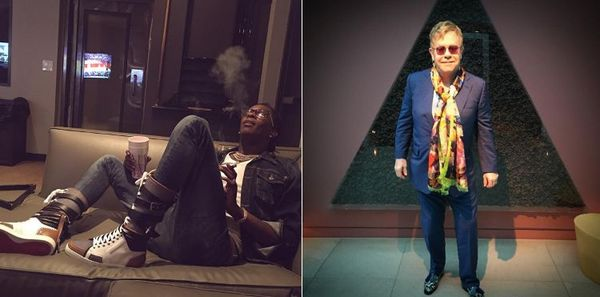 Young Thug & Elton John Said To Be Working On 'Rocket Man' Remix