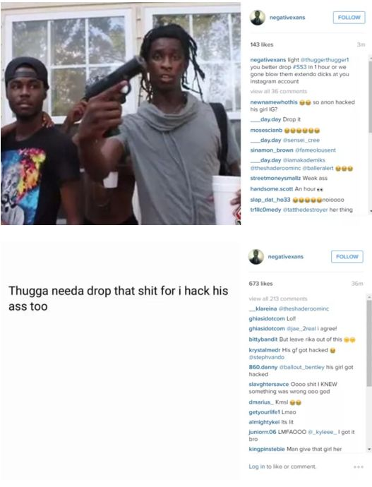 Young Thug hack