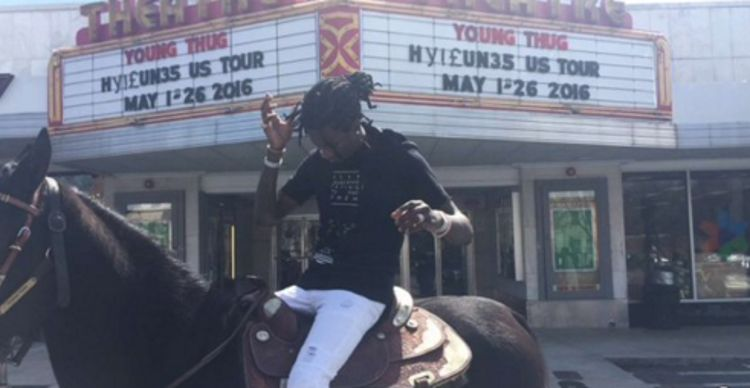 Young Thug horse