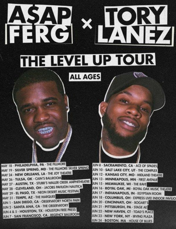 A$AP Ferg & Tory Lanez Are Going On Tour