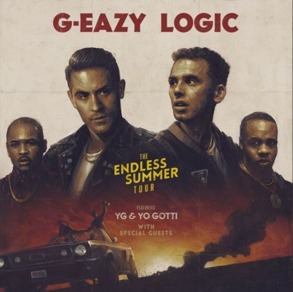 G-Eazy, Logic, YG, & Yo Gotti Are Going On Tour