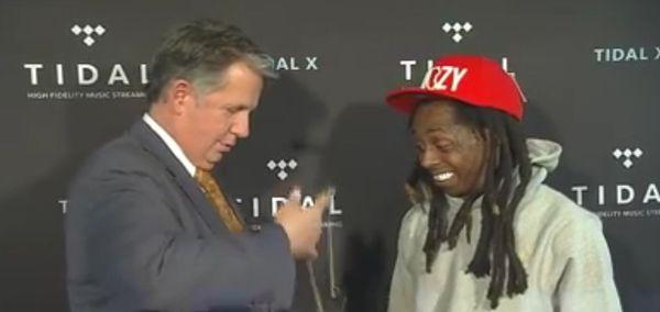 Lil Wayne Gets The Key To Lafayette, Louisiana