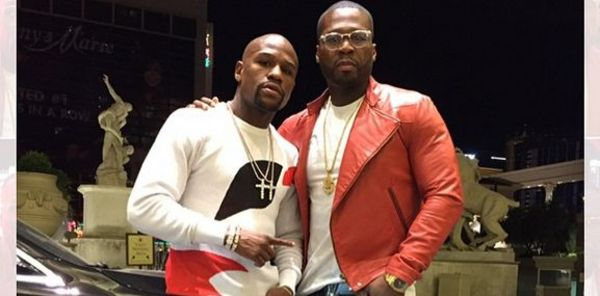 50 Cent Clowns Floyd Mayweather's Outfit