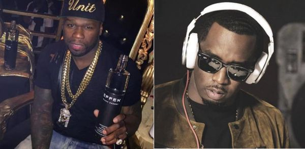 50 Cent Celebrates Diddy's Birthday Like Only 50 Cent Can