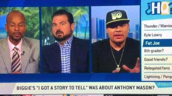 Fat Joe Feels Bad About Outing Anthony Mason As Biggie Smalls' Victim