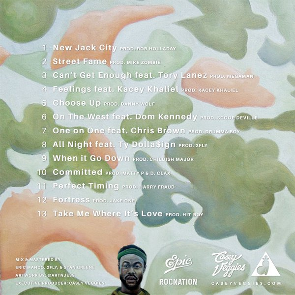 Customized Greatly 4 track list
