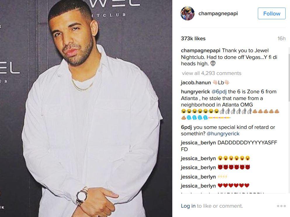 Drake vegas ig