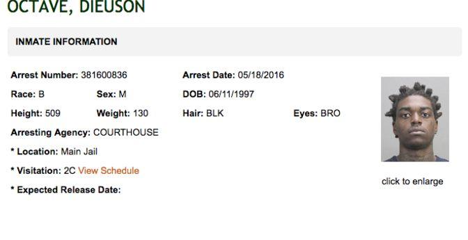 Inmate info