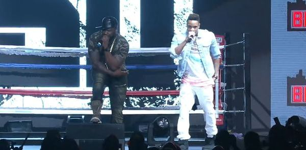 50 Cent Refuses To Leave The Stage For T.I. And Jeezy