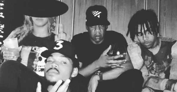 Vic Mensa Removes Chance The Rapper From Group Pic With Jay Z
