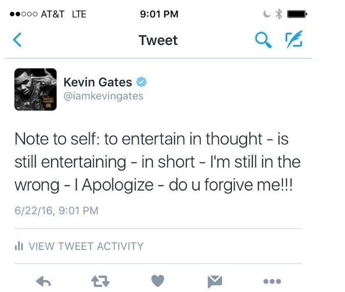 gates apology