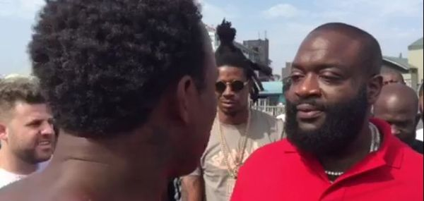 Street Rapper Impresses Rick Ross [VIDEO]