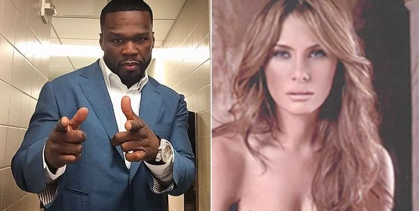 50 Cent Shades Melania Trump With Nude Pic