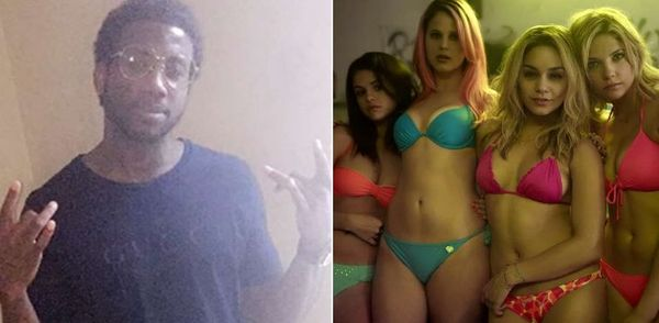 Watch Gucci Mane Watch Himself In 'Spring Breakers'