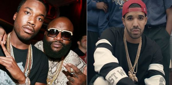 Rick Ross Threatens Drake; Sticks Up For Meek Mill